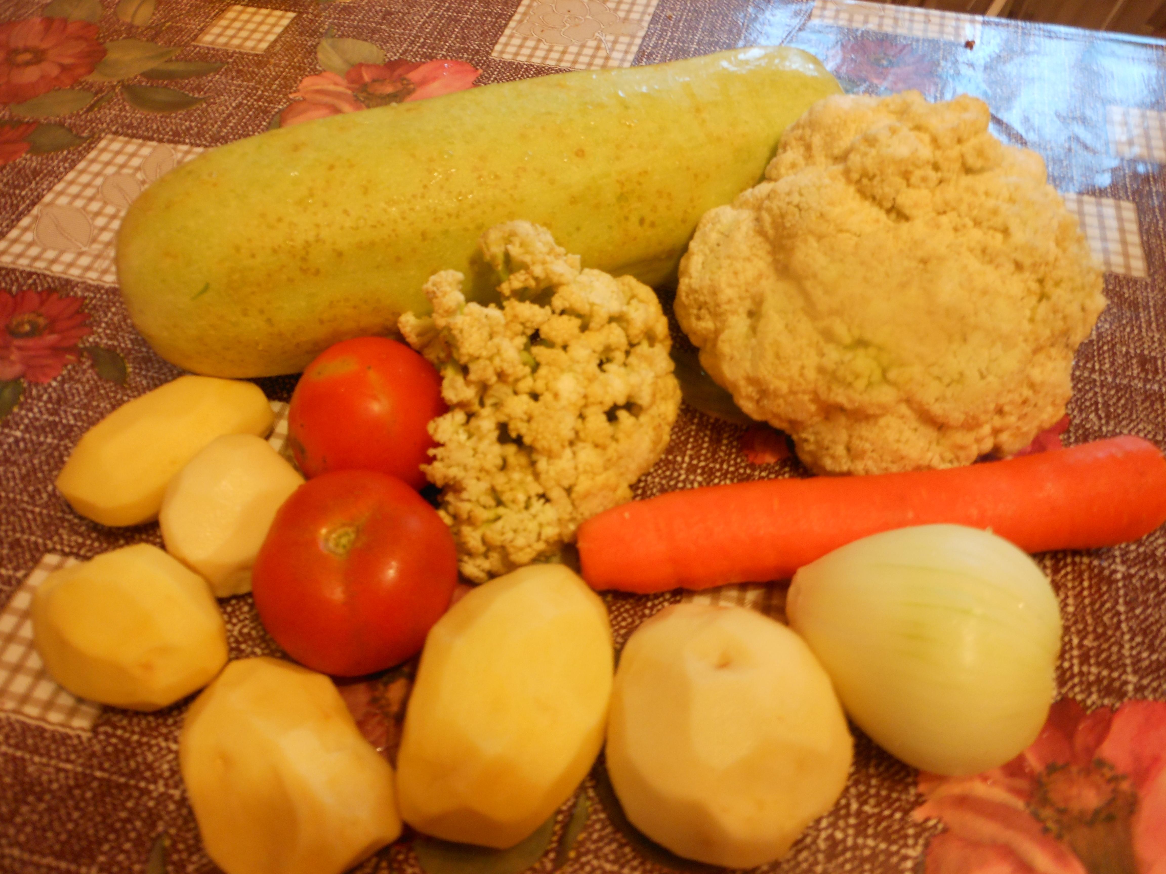 Рецепт детское овощное рагу 14