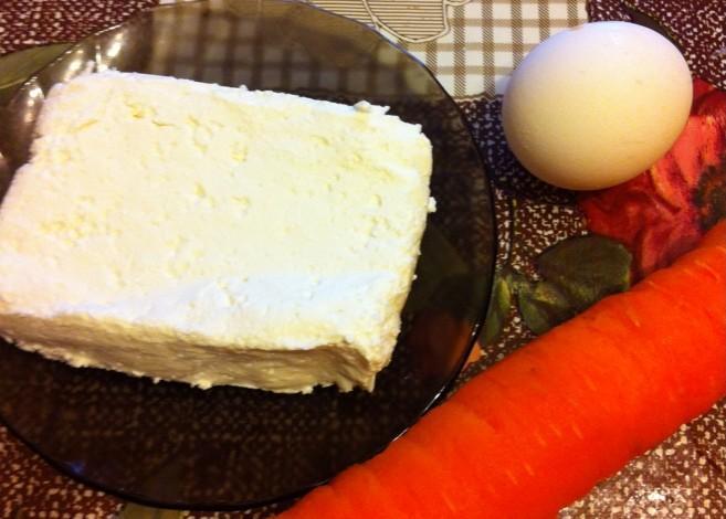 Диетические сырники с морковью