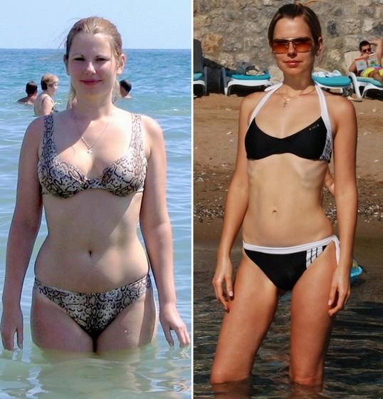 Быстрые диеты - фото до и после