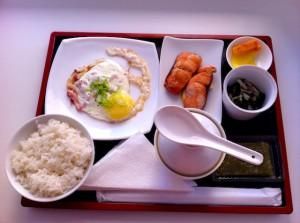 Завтрак в японской системе питания