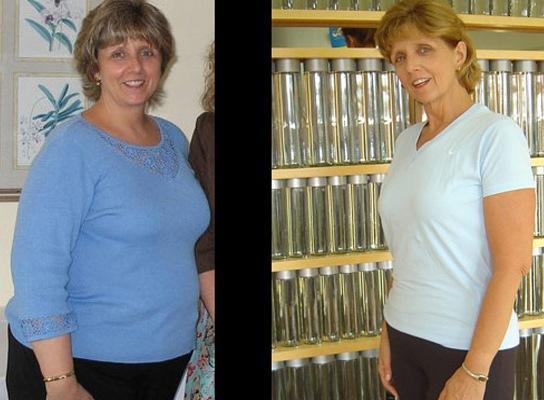 Листата для похудения - фото до и после