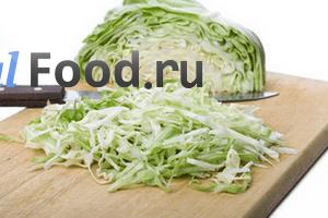 Как нарезать капусту на салат