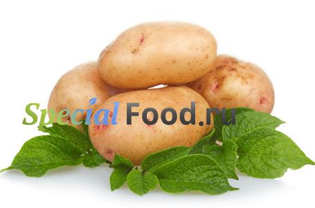 Приготовление картофеля