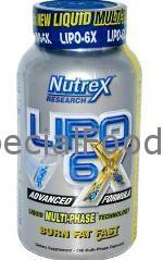 Lipo 6x от Nutrex