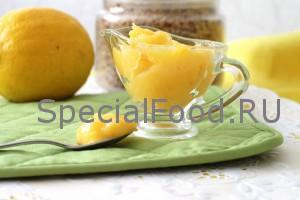 Лимонный курд с лавандой