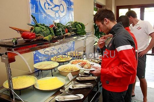 Правильное питание футболистов