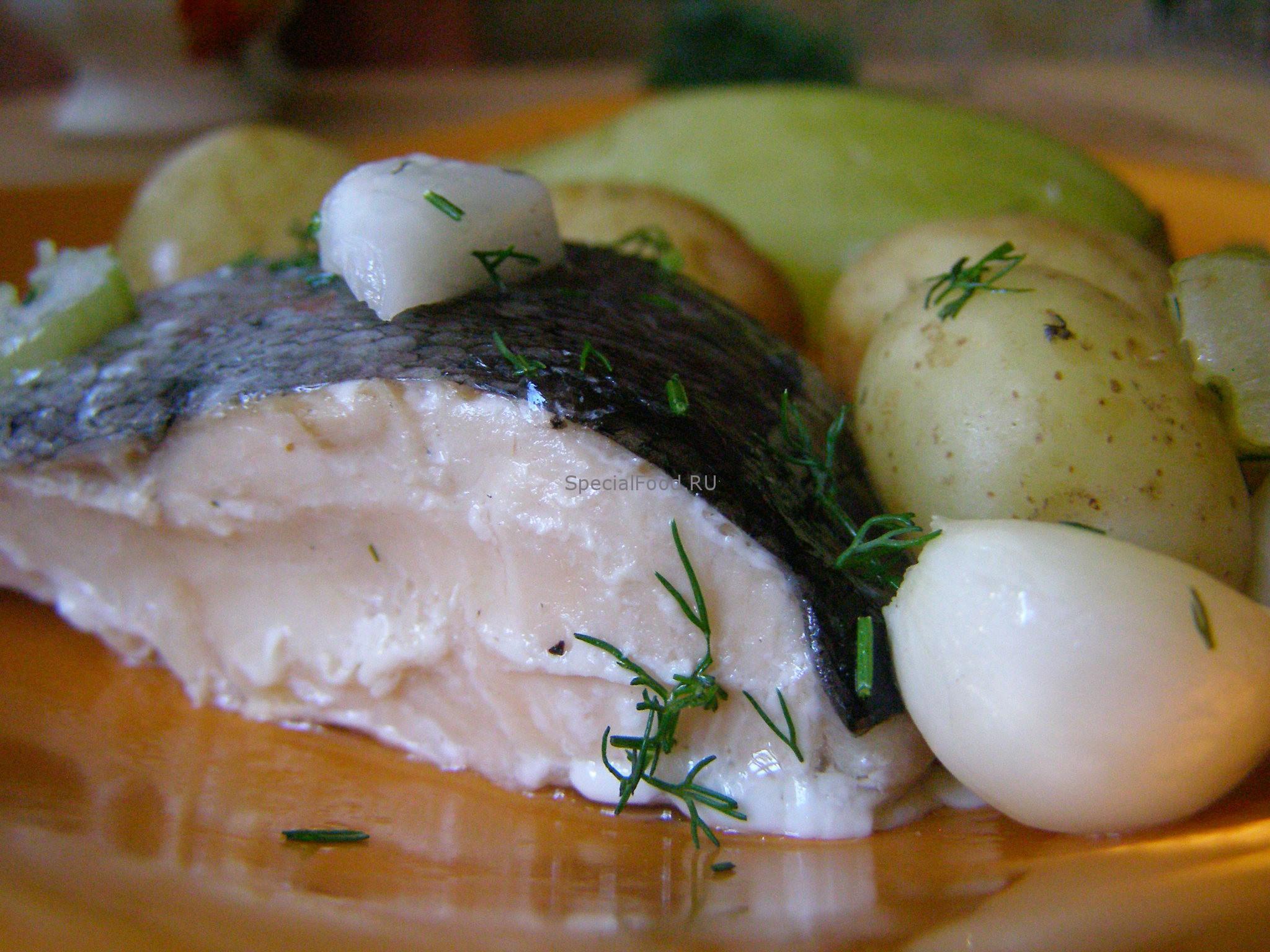Рыба с картошкой на пару в мультиварке рецепты