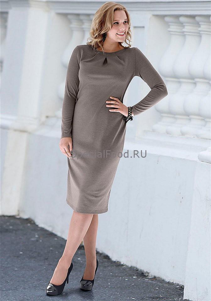 Платья для полных - на quelle.ru