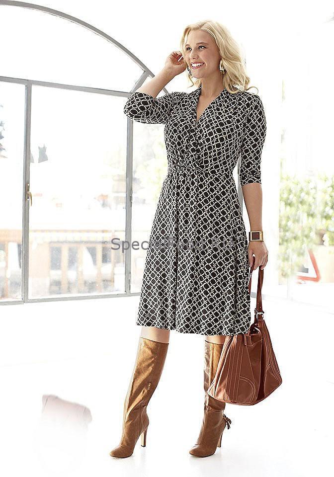 Модная и стильная одежда для полных на quelle.ru