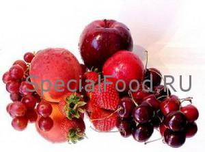 Красные продукты