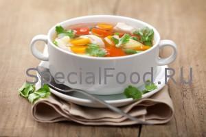Суп при подагре