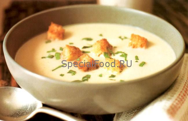 Овощной суп с пастернаком