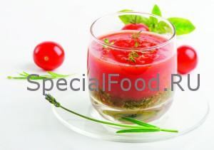 Коктейль томатный сок и сметана