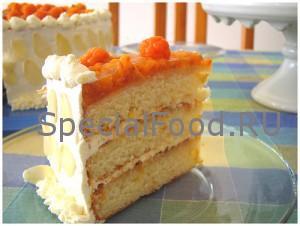 Торт с морошкой