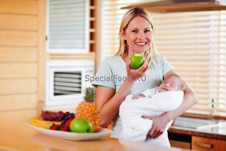 как похудеть кормящей маме меню на неделю