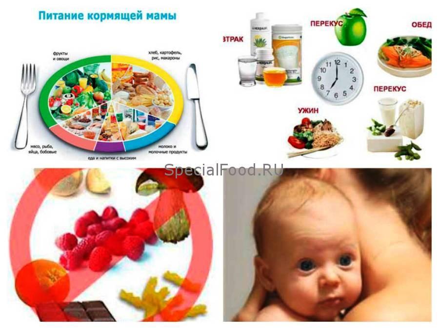 питание мамы при коликах у новорожденного