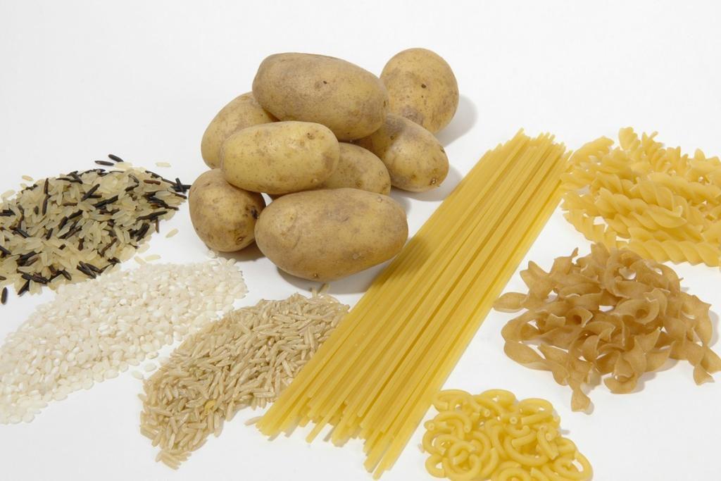 Картофель, крупа, макароны