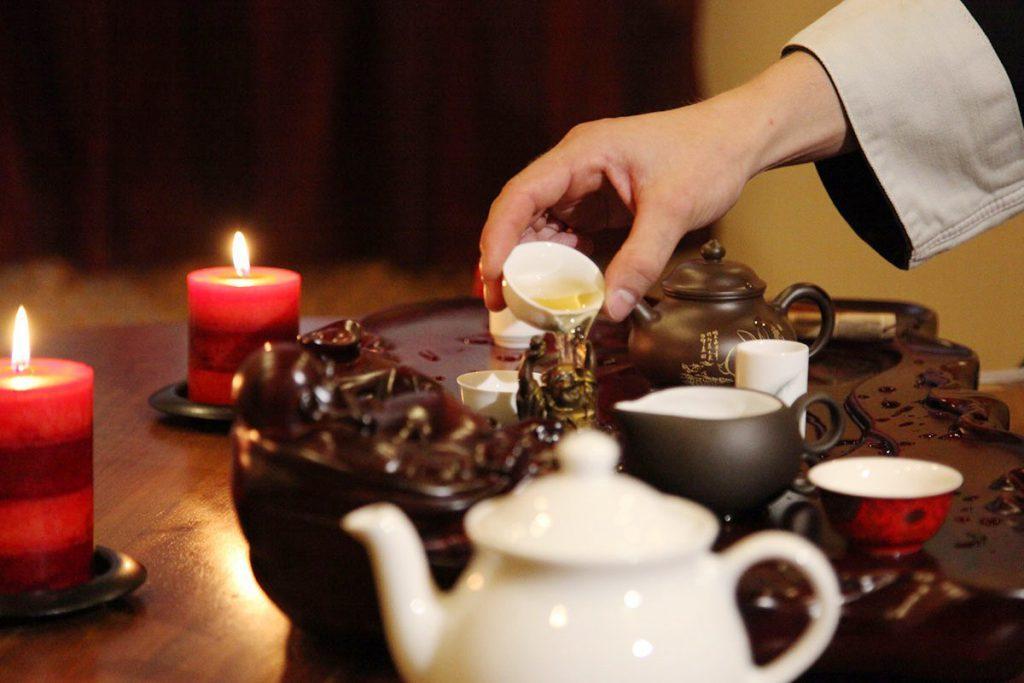 Правила чайной церемонии