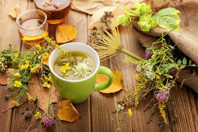 Травяные чаи для очищения