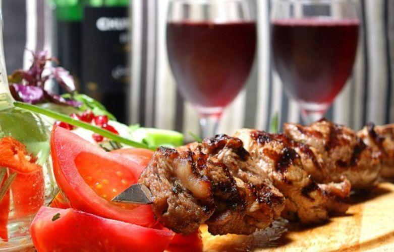 Маринад для шашлыка с вином