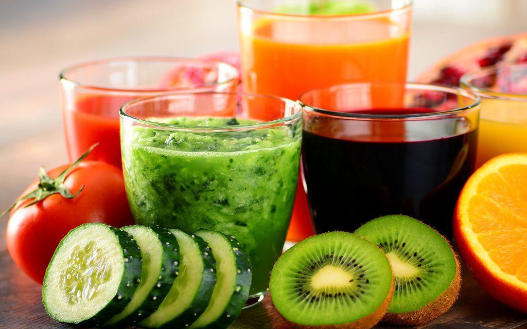 Разновидности свежевыжатых соков