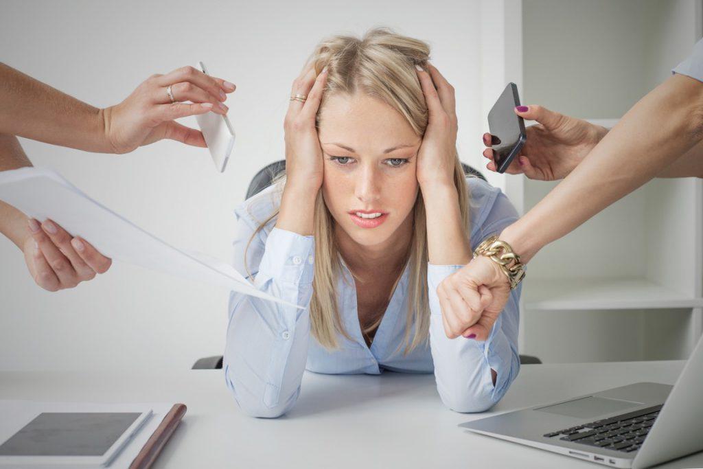 Стрессы на работе