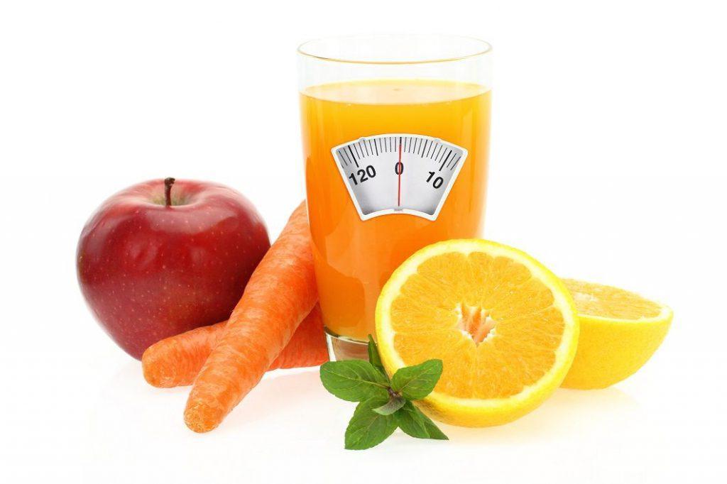 Свежевыжатые соки на диете