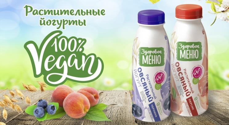 Овсяный йогурт