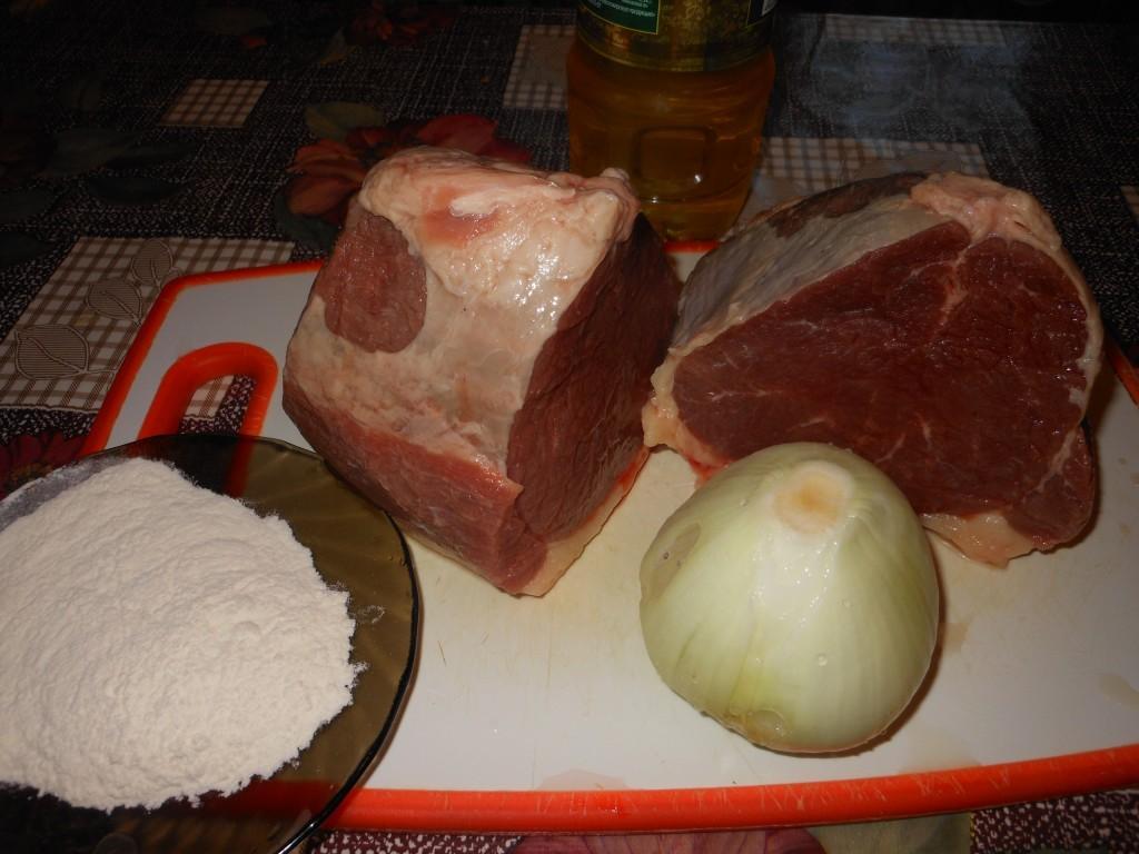 Бефстроганов из говядины По-уральски