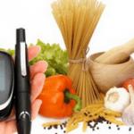 Разрешённые и запрещённые продукты при диабете
