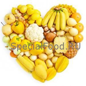 Желтые продукты