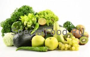 Зеленые продукты