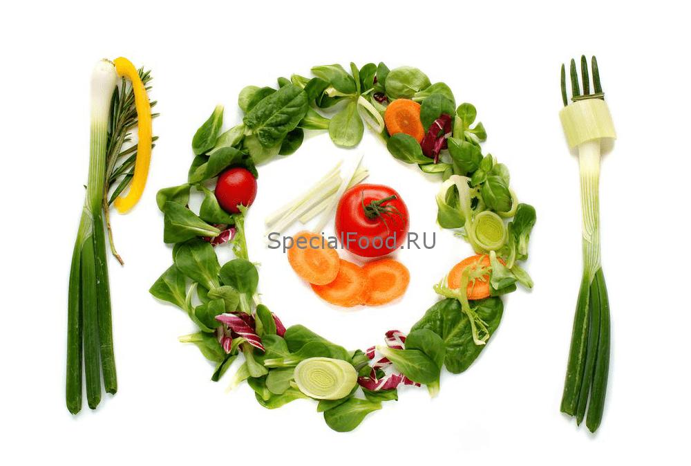Еда с низкой калорийностью