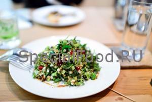 Салат с барбарисом