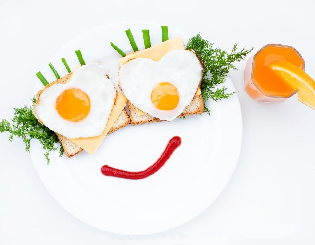 Завтрак улыбка