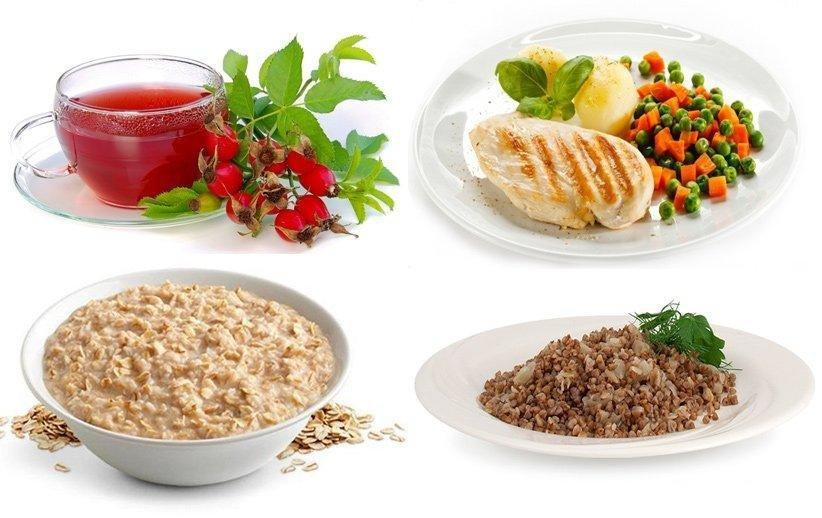 Разрешенное питание при язве