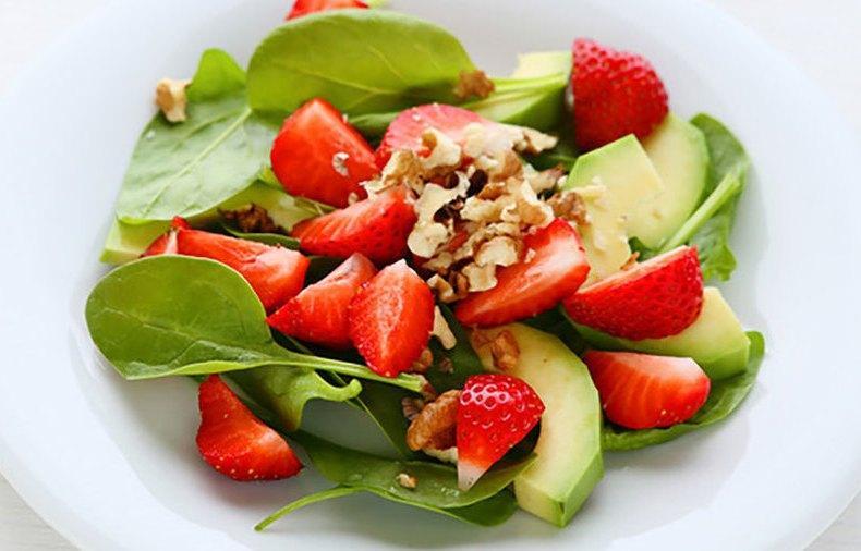 Салат с фруктами