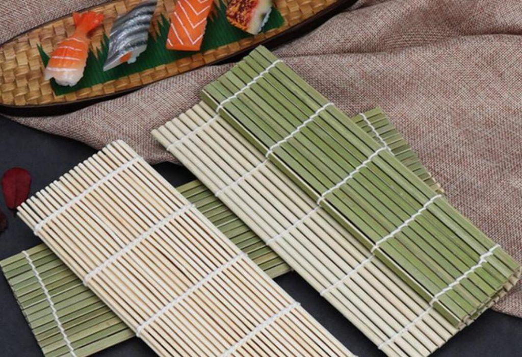 Бамбуковый коврик