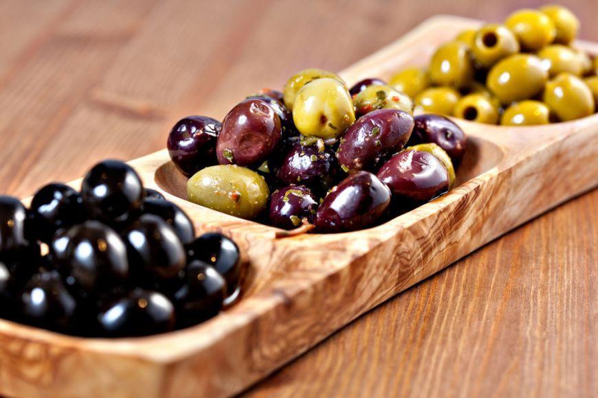 Польза маслин и оливок