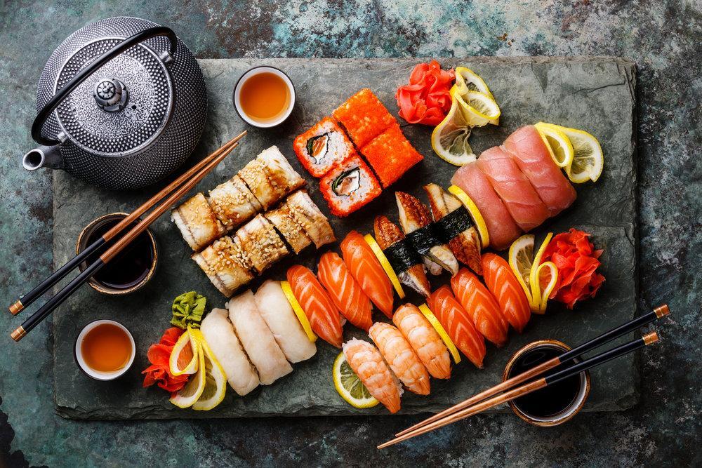 Рецепты приготовления суши и роллы