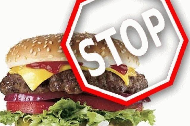Вред фастфуда для здоровья
