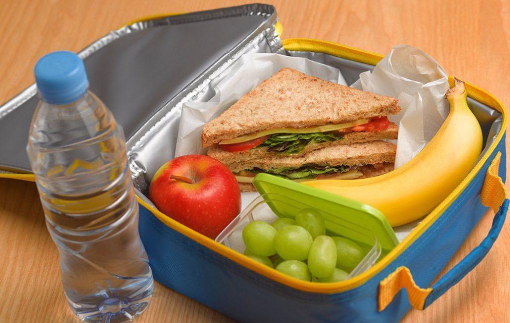 Здоровый перекус для школьника