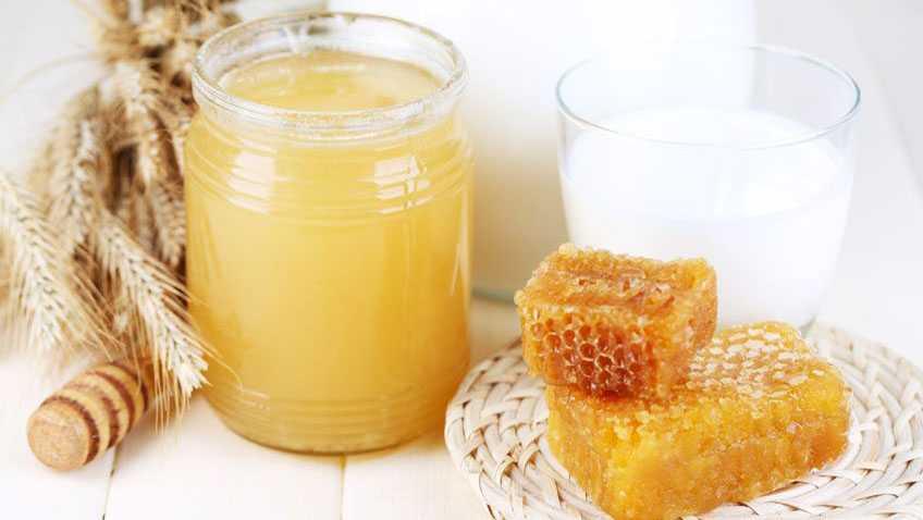 молоко и мёд