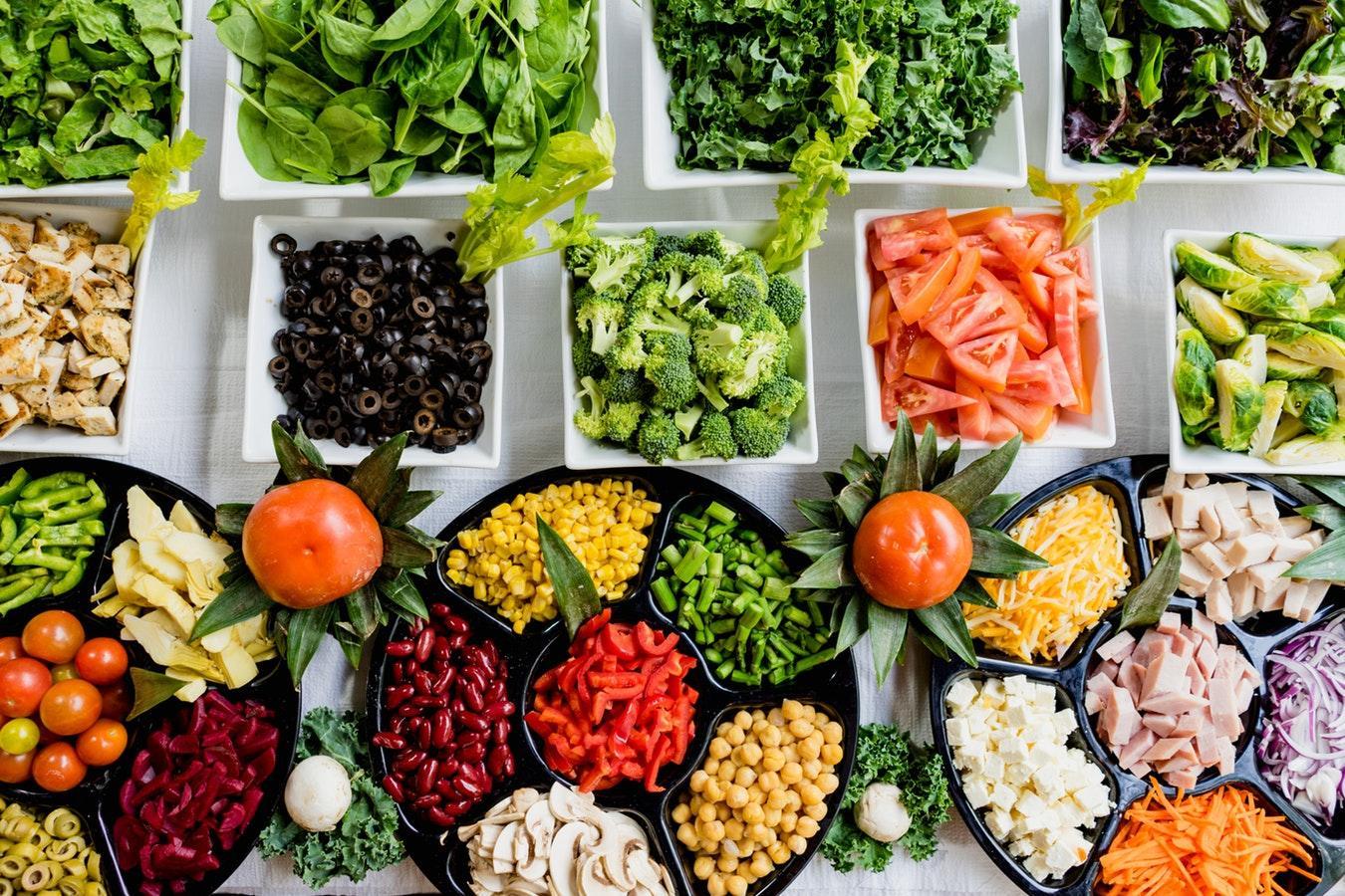 диета меню овощное
