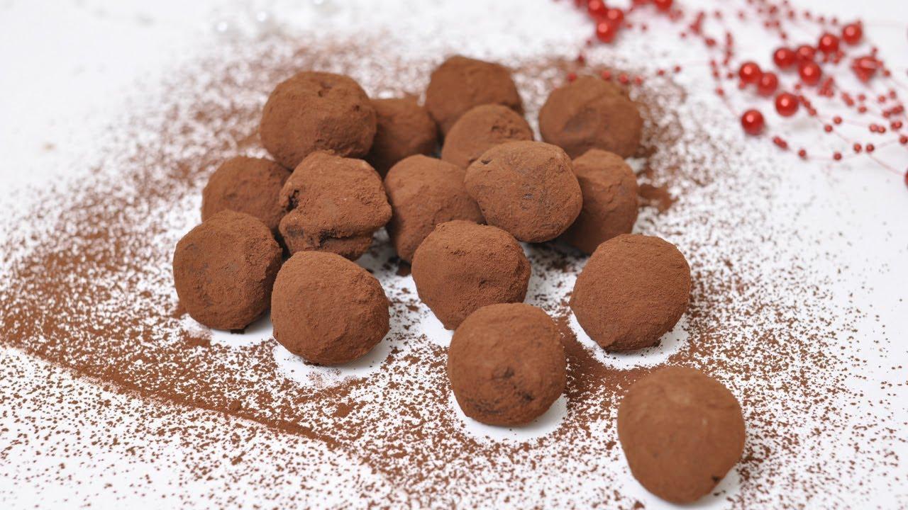 трюфели конфеты